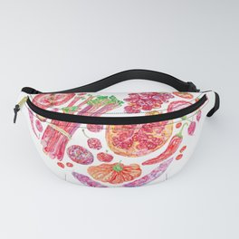 Fruit of Love Valentines Heart Fanny Pack