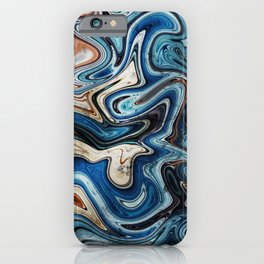 Calcite Marble Opal stone iPhone Case