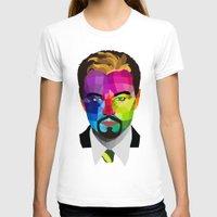 leonardo dicaprio T-shirts featuring Leonardo DiCaprio - popart portrait by Dep's