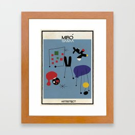 Miro+SANAA Framed Art Print