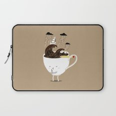 Brainstorming Coffee Laptop Sleeve