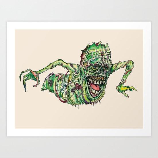 Slimer Art Print