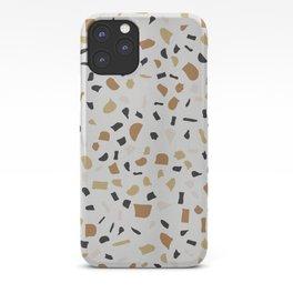 Beige Terrazzo iPhone Case