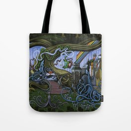 Existing Only In The Light Tote Bag