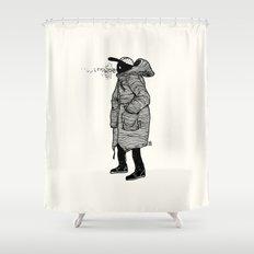 January Shower Curtain