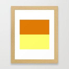 Caramel Custard Framed Art Print