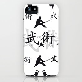 Martial Arts iPhone Case