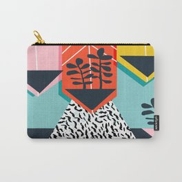 Legit - throwback 80s style memphis neon texture art print pop art dorm college hipster trendy urban Carry-All Pouch