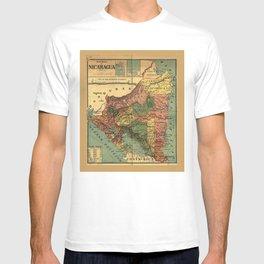 República de Nicaragua Map (1913) T-shirt