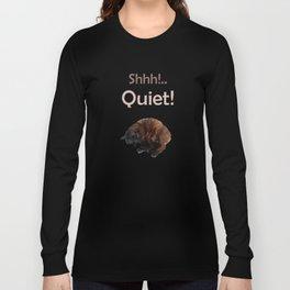 Shhh! Gattology Series Long Sleeve T-shirt