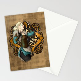 Viking Scream Stationery Cards