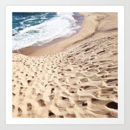 African Dune Beach Art Print