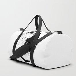 Woman and Horseman Duffle Bag