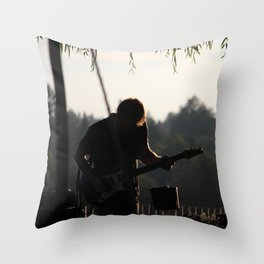 Led By Music Throw Pillow