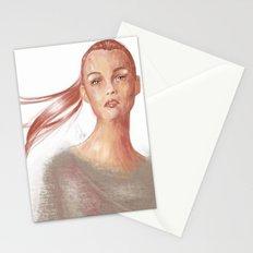 Light Scarlet Stationery Cards