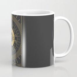 La Roue de Fortune or Wheel of Fortune Tarot Coffee Mug