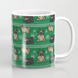 CHRISTMAS PUG Coffee Mug