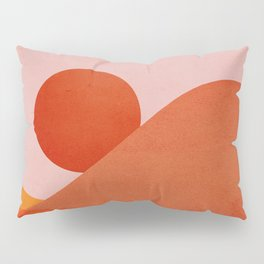 Abstraction_Mountains_SUNSET Pillow Sham