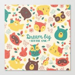 dream big little one Canvas Print