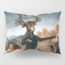 THE SABBATH OF THE WITCHES - GOYA Pillow Sham