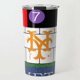 NYC Mets Subway Travel Mug