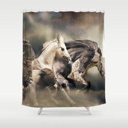 The Great Spirit Shower Curtain
