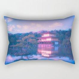 Kinkaku-ji Rectangular Pillow