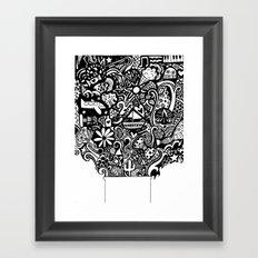 box of goodies Framed Art Print