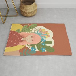 Bloom With Grace Rug