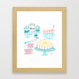 Sugar And Spice And Everything Nice Framed Art Print