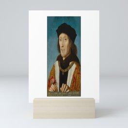 Henry VII King of England. Mini Art Print