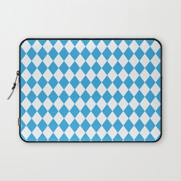 Blue Sky Modern Diamond Pattern Laptop Sleeve
