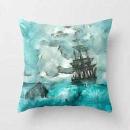 ship 2 Throw Pillow