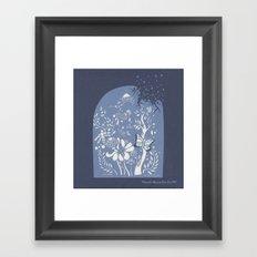 Butter fly Framed Art Print