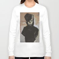 goth Long Sleeve T-shirts featuring Goth by Rick Onorato