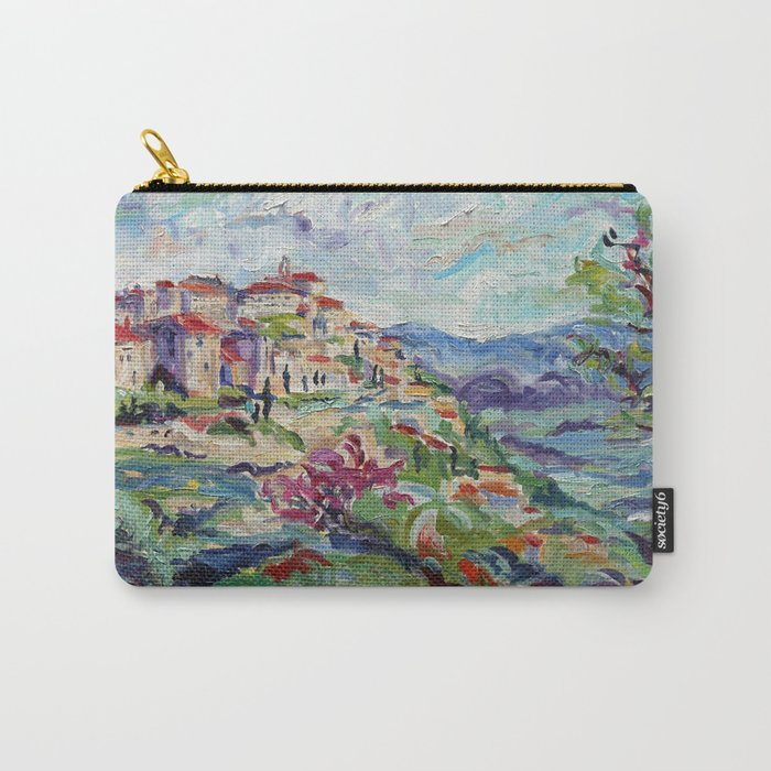 Gordes in the Luberon Carry-All Pouch