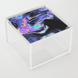 DESPAIR IN THE DEPARTURE LOUNGE Acrylic Box
