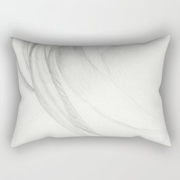 Graphite Falls Rectangular Pillow
