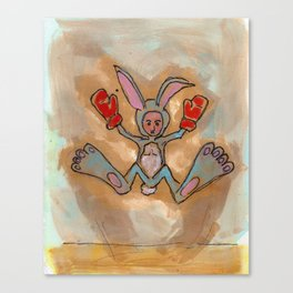 Thumper Does the Thump Jump Canvas Print