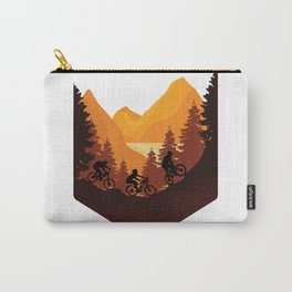 Funny biker fashion. All who love nature will love it Carry-All Pouch