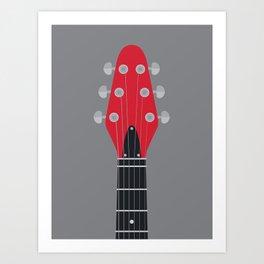 Guitar Heroes #1 - Brian Art Print