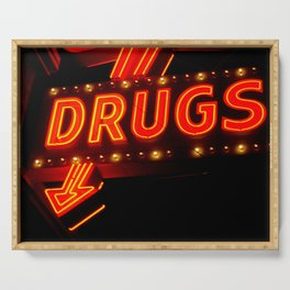 Drugs Serving Tray