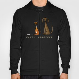 Happy Together - Black Hoody