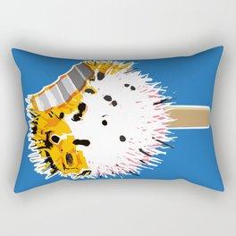 Fish Fugu Ice Cream Rectangular Pillow