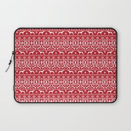 Fair Isle christmas sweater pattern greyhound dog lover perfect christmas festive gifts Laptop Sleeve