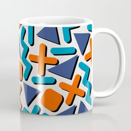 90s Retro Memphis Pattern Coffee Mug