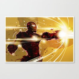 ka-boom Canvas Print