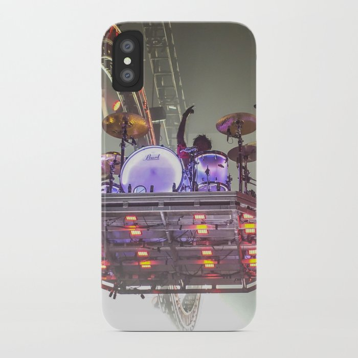 quality design 5bd52 5790a Tommy Lee on his Drum Kit iPhone Case