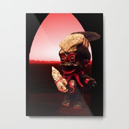 Black Troll Metal Print