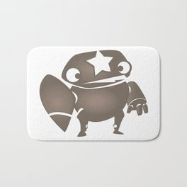 minima - slowbot 004 Bath Mat